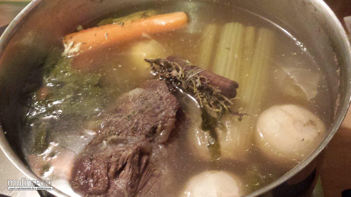Le pot au feu de joue de Bœuf, un plat équilibré