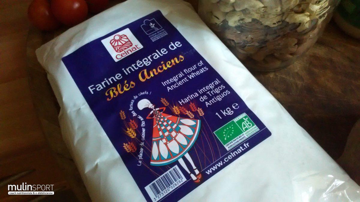 Découvrir la farine intégrale de blés anciens