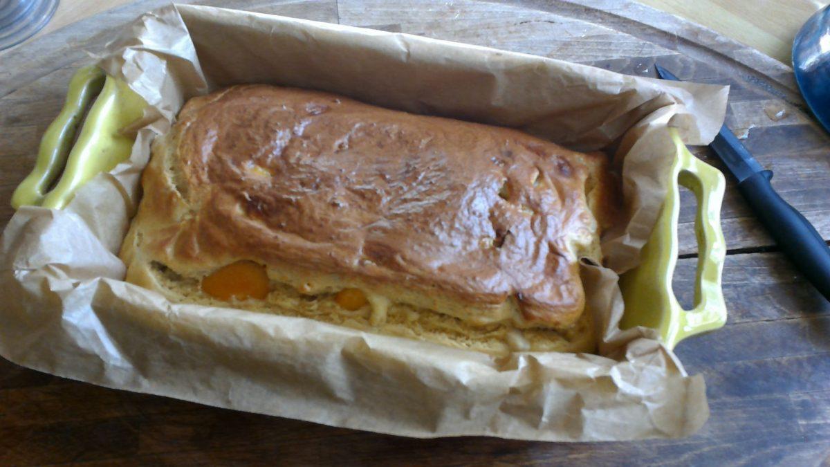 CAKE AUX FRUITS ST MAMET SANS SUCRES AJOUTES🍐🍑🍐🍑 farine de soja et fécule de pommes de terre***Gluten free