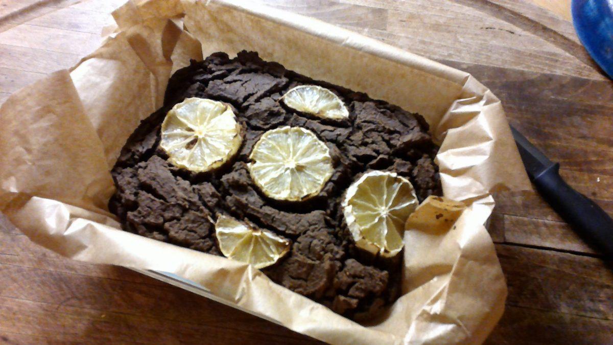 Cake cacao au citron Corse 🍋🍋#lowcarb#glutenfree